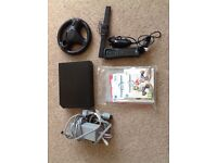 Nintendo Wii console and extras