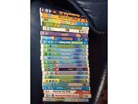 DVDs 23 children's