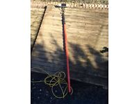 25' telescopic water fed pole. Window cleaning etc