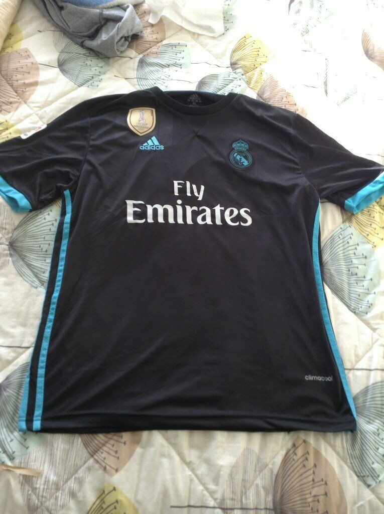 sports shoes e5a12 d0695 A New and Unworn 2017/18 Real Madrid Away Shirt with Bale (Number 11) on  the Back - Adidas - XL | in Shoeburyness, Essex | Gumtree