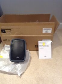 Bowers and Wilkins WM4 outdoor speakers, new boxed.