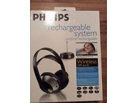 Philips head phones.