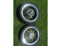 Yamaha/Honda sm supermoto wheels