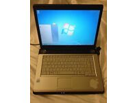 Toshiba laptop A200 120gb HD, 2gb ram, intel dual core 1.73Ghz