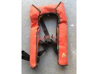 Life Jacket - gas operated