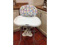 Graco High Chair. Quality make.