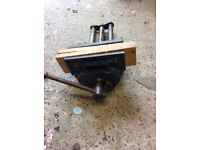 Old quick release bench vice