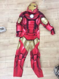 Disney Iron Man Costume aged 7-8years