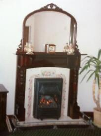 Fire place and surround