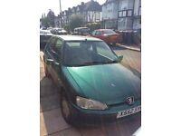 2001 Peugeot 106 independence MOT till end of Jan£150