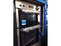 Electric built in double oven new graded 12 mth gtee £250