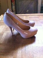 Size 11 Nude Stiletto Pumps
