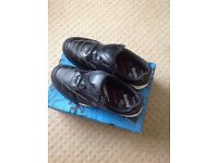 Clarks Bootleg Black Trainers Older Boy, size 5G, worn once, excellent condition