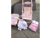 Baby Annabel Pram and carseat