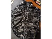 Men's Combat Rain Jacket, Size L with Lining