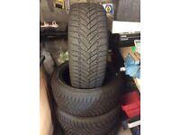 Dunlop tyres (part worn)