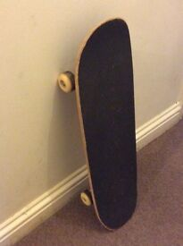Standard size skateboard, used condition, bought it last year from the U.S.A.