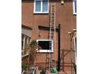 Double extending ladder