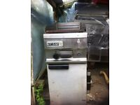Zanussi commercial grill in good condition and works perfectly well.