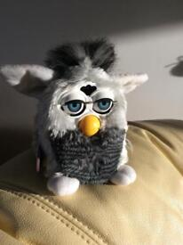 Furby works perfectly. Complete with dictionary Furby language