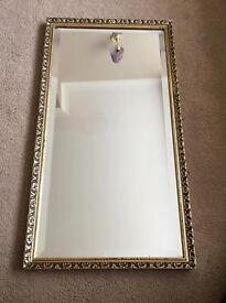Mirror in Gold frame, nice condition