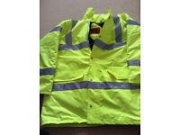 Hi Vis Jacket Size Large