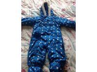 Trespass snow suit 12-18 months