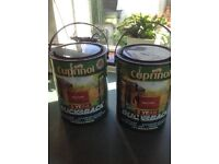 Cuprinol Fence & Shed Paint - variety of colours 5 & 6 litre tins - £3 each