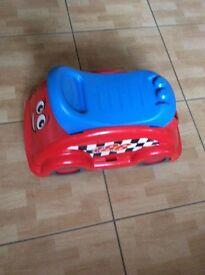 Mega Bloks Racecar Whirl N Twirl - used very few times