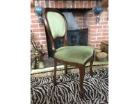 2 x very Luxury Antique Wood Traditional Chair