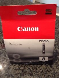 Canon printer ink cartridges. In original, unopened containers. CLIVE-88K and CLIVE-8Y.