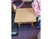 FREE solid oak coffee table