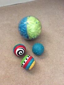 ELC sensory balls & large sensory ball