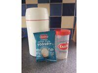 Easiyo yogurt maker plus yogurt mix, new, use by 21/11/2018