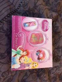 Disney princess car travel set