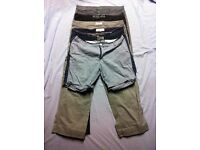 size w36 mens trousers, jeans and shorts