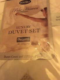 Double duvet cover with two. Pillowcases