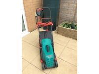 Nearly new Bosch lawn mower only £50!