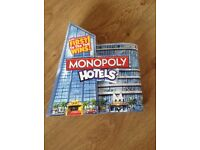 Monopoly Hotels Game - New