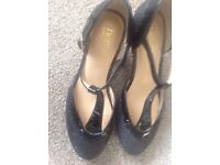 Hotter sparkly dance shoe - size 4 1/2