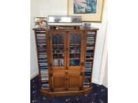 Parker Knoll Stereo Cabinet and CD Holder