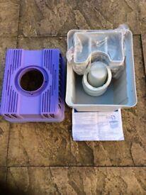 Condenser box for tumble drier