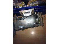Hilka double disc bench grinder