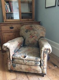 Lovely old Armchair for upholstery project