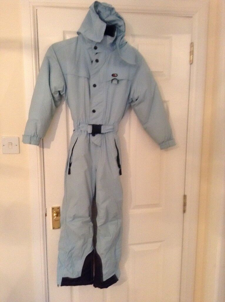 Child's trespass all in one ski suit.