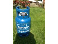 Calor gas bottle 7kg butane full and unused