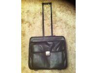 Laptop Case/Bag In Black On Wheels
