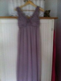 Size 10 evening dress. Prom/ball/Christmas bash? Looks fab on. Worn once