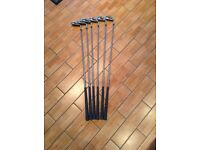 Ladies full set of irons and 3 wood and recovery wood graphite shafts excellent condition bargain