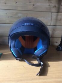 Moped helmet